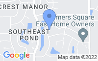 Map of South Bend IN