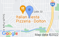 Map of Dolton IL