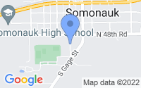 Map of Somonauk IL