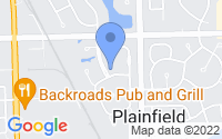 Map of Plainfield IL
