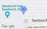Map of Sandwich IL