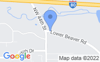 Map of Des Moines IA