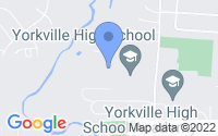 Map of Yorkville IL