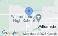Map of Williamsburg IA