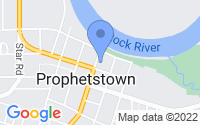 Map of Prophetstown IL