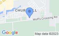Map of Oswego IL