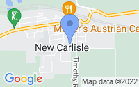 Map of New Carlisle IN