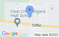 Map of Tiffin IA