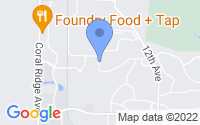 Map of Coralville IA