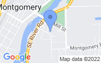 Map of Montgomery IL