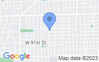 Map of Oak Lawn IL