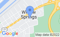 Map of Willow Springs IL