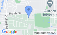 Map of Aurora IL