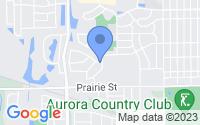 Map of Aurora IL