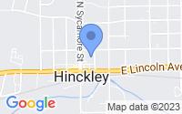 Map of Hinckley IL