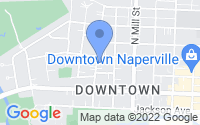 Map of Naperville IL