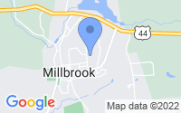 Map of Millbrook NY