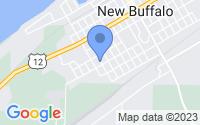Map of New Buffalo MI