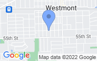 Map of Westmont IL