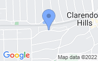 Map of Clarendon Hills IL