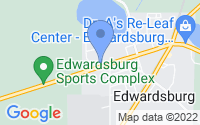 Map of Edwardsburg MI