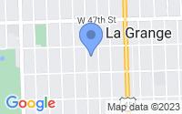 Map of La Grange IL