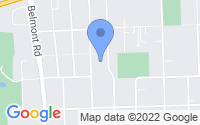 Map of Downers Grove IL