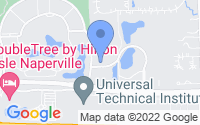 Map of Lisle IL