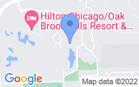 Map of Oak Brook IL