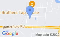 Map of Warrenville IL