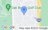 Map of Oak Brook IL