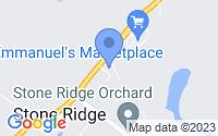 Map of Stone Ridge NY