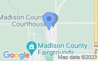 Map of Madison NE