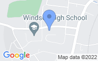 Map of Windsor CT