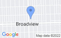 Map of Broadview IL
