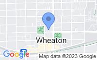 Map of Wheaton IL