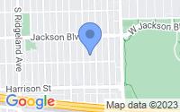 Map of Oak Park IL