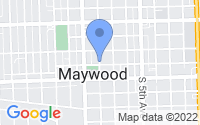 Map of Maywood IL