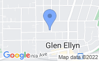 Map of Glen Ellyn IL