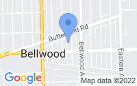 Map of Bellwood IL
