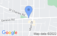 Map of Glen Ellyn IL