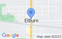 Map of Elburn IL