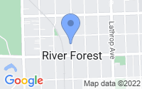 Map of River Forest IL