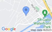 Map of Kingston NY