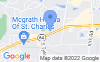 Map of St. Charles IL