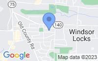 Map of Windsor Locks CT
