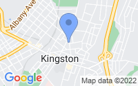 Map of Kingston NY
