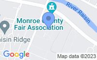 Map of Monroe MI