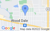 Map of Wood Dale IL