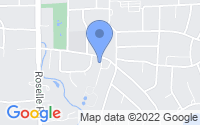 Map of Roselle IL